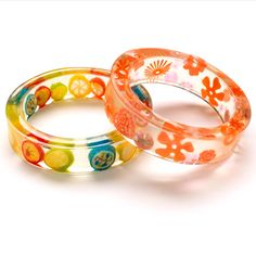 Newfangled bangle (Download Now)  Resin bracelet