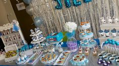 Foto 4/7 Frozen Party (Sweet Corner Themed) #sweetcorner #sweettable #frozenparty #frozensweetcorner #birthdayparty