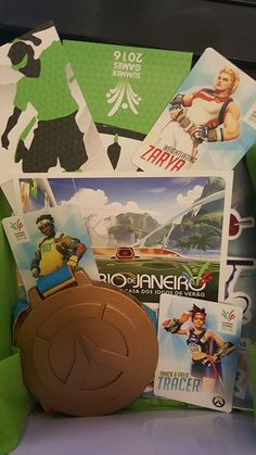 Overwatch Olympic Games Rio loot boxes spotted with limited edition skins