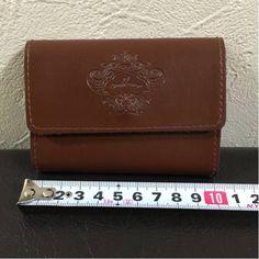 1円 未使用◆オロビアンコ 本革カードケース/名刺入 小銭入 財布_画像3