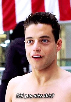 When Cuteness Has A Twin Rami Malek And Twin Sami