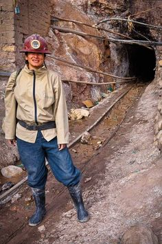 Exploring the silver mines in Potosi, Bolivia