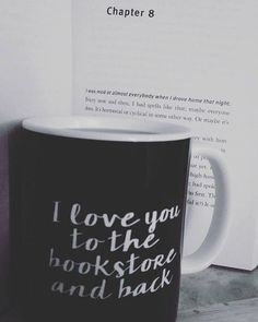 "I would fall in love if someone would say to me ""I love you to the bookstore and back"""