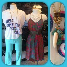 New brands to Velvet Hanger - Chaser tees, Black Orchid jeans, and Charlie Jade dresses.