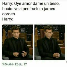 Oh shit 😂😂😂 One Direction Harry Styles, One Direction Humor, Larry Stylinson, Harry Styles Birthday, Harry Styles Memes, Larry Shippers, I Respect You, Old Memes, Midnight Memories