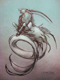 Capricorn by MattBarley.deviantart.com on @deviantART