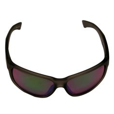 Revo RE 1006 00 GN Baseliner Sunglasses With Crystal Frame and Green Water Serilium Lens