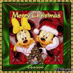 Merry Christmas and a Happy New Year - Disney: Mickey Mouse ...