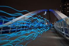Light Bridge by EugeneEverson, via Flickr