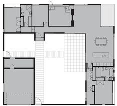 1000 images about l shaped floor plans on pinterest for L shaped house plans with courtyard