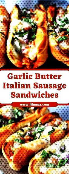 You can find italian and more on our website. Italian Sausage Sandwich, Sausage Sandwiches, Garlic Butter, Cheesesteak, Canning, Ethnic Recipes, Food, Cauliflower, Website