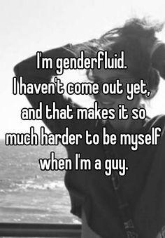21 Eye-Opening Confessions From People Who Are Genderfluid Pansexual Pride, Lgbt Love, Genderqueer, Lgbt Community, Gay Pride, Transgender, Confessions, People, Saga
