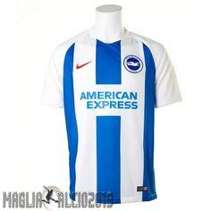 331d81ffd3e021 Completi Calcio In Offerta Nike Home Maglia Brighton 18-19 Blu