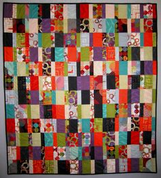 PDF Pattern TOTALLY CHARMING Quilt Pattern by carolinasquirrell