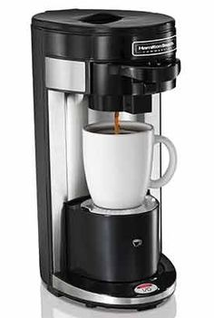 Hamilton Beach HDC300 FlexBrew® Single-Serve Commercial-grade Coffeemaker with 4 free JavaPodz - http://thecoffeepod.biz/hamilton-beach-hdc300-flexbrew-single-serve-commercial-grade-coffeemaker-with-4-free-javapodz/