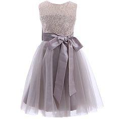 Mic Dresses Elegant Flower Girls' Dresses with Long Belt (US 10, Grey) Mic Dresses http://www.amazon.com/dp/B00OPT4UTO/ref=cm_sw_r_pi_dp_L.nCub1WD7XQD