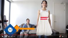 The Mall try on clothes from your TV #clothing #fashion #technology #fashiontech #eCommerce