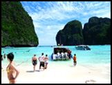 Beaches of the Phi Phi Islands in Thailand