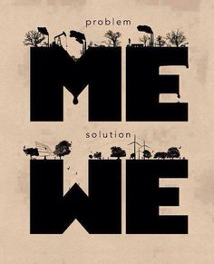 we are the solution.