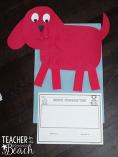 During our short o wee k , I decided to do Clifford the Big Red Dog . They…