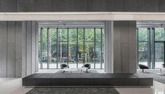 Aim Architecture design futuristic interiors for shopping centre