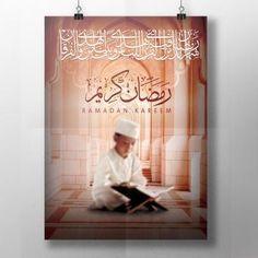 Ramadan kareem greeting card Islam Ramadan, Ramadan Mubarak, Daily Inspiration, Vector Free, Greeting Cards, Photoshop, Creative, Business Cards, Templates