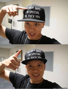 Can I please have Peniel's hat?!?