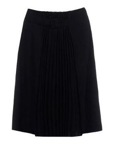 Crêpe Cotton twill Pleated Solid colour Strap detailing Unlined Side slit hemline Jacquard Cotton twill Woven.