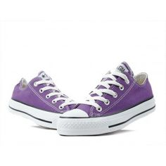 Converse Shoes Purple Chuck Taylor All Star Classic Low