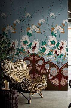 Papier peint à motifs. Design by Antonio Marras. Collection Contemporary Wallpaper 2016