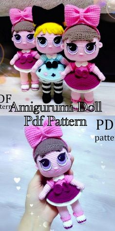 Amigurumi Best Doll Pdf Crochet Free and Premium Patterns - Amigurumi - . : Amigurumi Best Doll Pdf Crochet Free and Premium Patterns – Amigurumi – Handmade Dolls Patterns, Doll Patterns Free, Crochet Dolls Free Patterns, Free Crochet, Amigurumi Patterns, Diy Doll Pattern, Diy Rag Dolls, Lilo Und Stitch, Baby Mobile