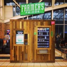 "Farmer's Fresh is starting a food revolution via vending machines! ""Our little company's big idea? Handcrafted salads that taste so good you'll think you're eating bad. We make them fresh every day…"