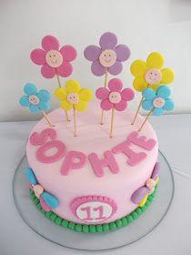E para comemorar o ultimo mesversario da Sophie um bolo todo trabalhado na fofurice srrsrs               bolos decorados maceio  andrezza a...