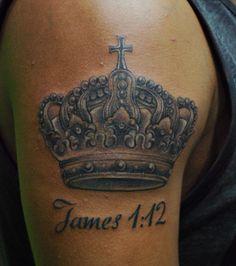 proyectos que intentar on pinterest crown tattoos kings