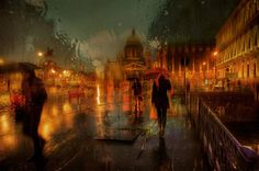 Rainy Day Pictures Look Like Oil Paintings – Fubiz Media