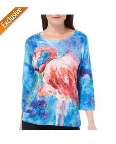 Leoma Lovegrove Womens Belle Flamingo Top