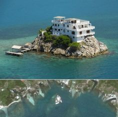 3. Dunbar Rock, Honduras   12 Houses That Will Get You Through A Zombie Apocalypse