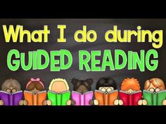 Here is an easy way to schedule your guided reading each week. In this post and video I show you the tools I use for a successful group reading lesson plans