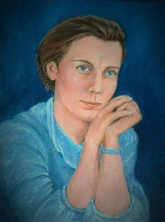 Irene Schwarz, Artist...Oilpainting Irene, Portraits, Artist, Painting, Head Shots, Artists, Painting Art, Paintings, Portrait Photography