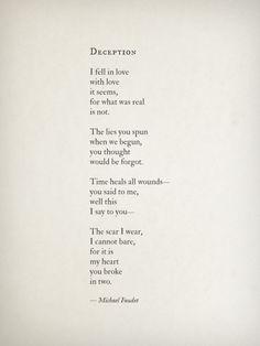 Deception by Michael Faudet
