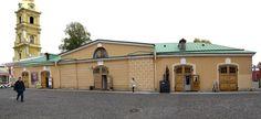 Ecuries - Saint Petersbourg - Construites en 1846 par l'ingénieur militaire Bator.