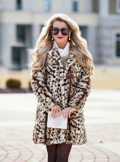 Leopard Goddess Coat #JessLeaBoutique