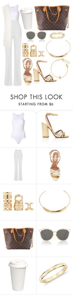 """""""Untitled #5282"""" by tatyanaoliveiratatiana ❤ liked on Polyvore featuring Tabitha Simmons, Maticevski, Forever 21, Jennifer Fisher, Louis Vuitton, Christian Dior, Blue Nile and WearAll"""