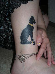 Cat tattoo, Bastet | Flickr - Photo Sharing!