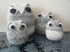 Family+of+snowowls+by+HandmadebyFieke+on+Etsy,+€20.00