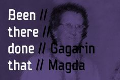 NT Magda Gagarin Fonts Magda Gagarin is part of the Gagarin Family. Made by Novo Typo. Designers from Amsterdam, The Nether by NovoTypo