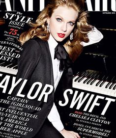 Taylor Swift stuns on the cover of the September issue of Vanity Fair magazine! | toofab.com