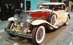 1934 Duesenberg 2 Dual Cowl Phaeton