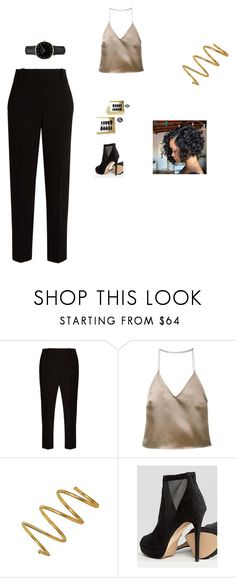 """Untitled #63"" by deedee364 ❤ liked on Polyvore featuring The Row, Barbara Casasola, Chanel, ALDO and ROSEFIELD"
