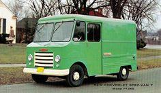 Chevrolet Step-Van 7 Model P1345 (1961) | Snaxtime